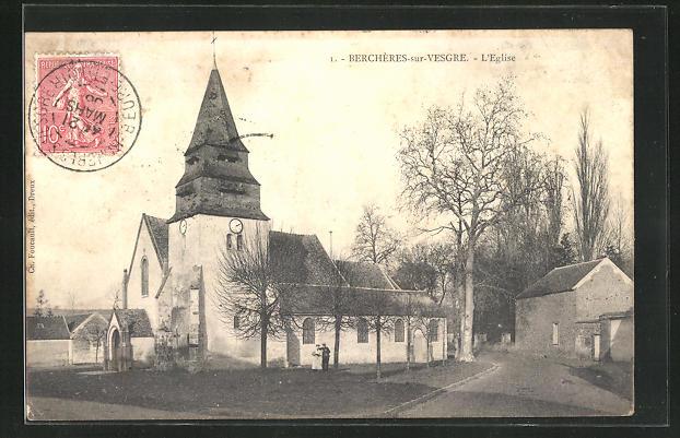 AK Bercheres-sur-Vesgres, L`Eglise