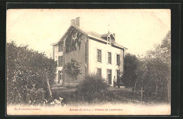 AK Arrou, Château de Lautrinière, Villa