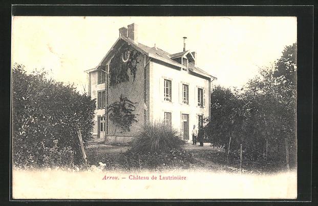 AK Arrou, Château de Lautrinière, Motiv des Hauses 0