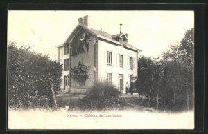 AK Arrou, Château de Lautrinière, Motiv des Hauses