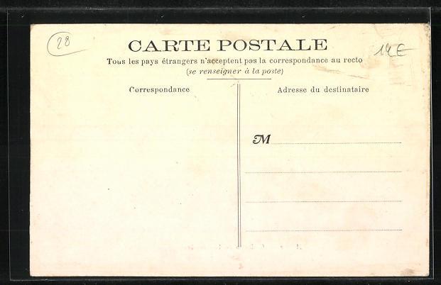 AK Arrou, Château de Lautrinière, Motiv des Hauses 1