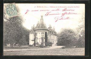 AK Arrou, Château de la Brunetière, vue prise du Parc, Blick zum Schloss