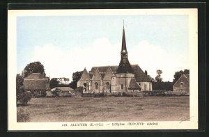 AK Alluyes, l`Eglise, Kirche