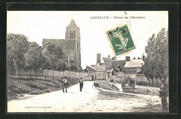 AK Janville, Place de l`Hospice