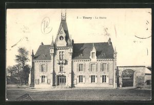 AK Toury, La Mairie