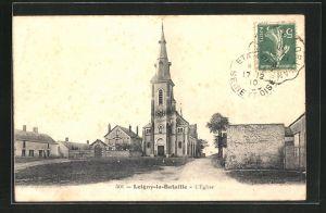 AK Loigny-la-Bataille, L`Eglise