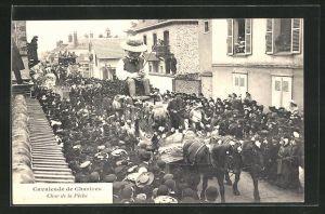 AK Chartres, Cavalcade, Char de la Peche