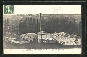AK St.-Lubin-des-Joncherets, Tissage de la Pacqueterie