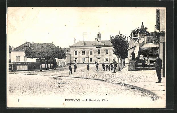 AK Epernon, L`Hotel de Ville