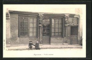 AK Epernon, Vieille maison
