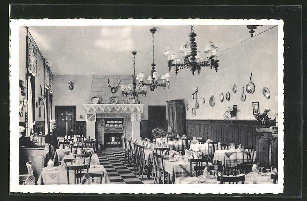 AK Cloyes, Hotel Saint-Jacques, Salle du Restaurant