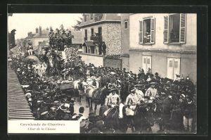 AK Chartres, Cavalcade - Char de la Chase