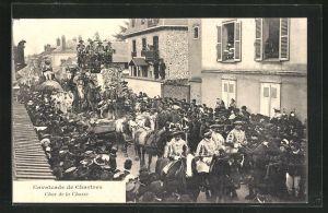 AK Chartres, Cavalcade - Char de la Chasse