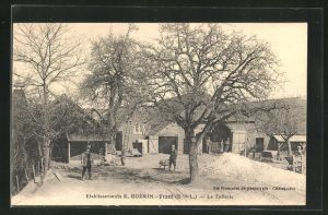 AK Frazè, Etablissement E. Guèrin - La Tuilerie