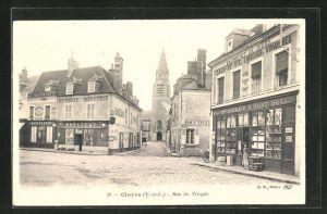 AK Cloyes, Rue du Temple