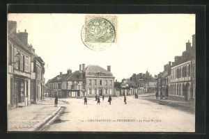 AK Chateauneuf-en-Thymerais, La Place St-Claire
