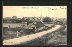 AK Chateauneuf-en-Thymerais, Vue gènèrale