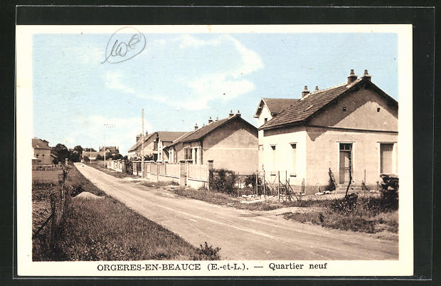 AK Orgeres-en-Beauce, Quartier neuf
