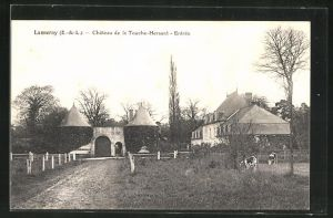 AK Lanneray, Chateau de la Touche-Hersant-Entrèe