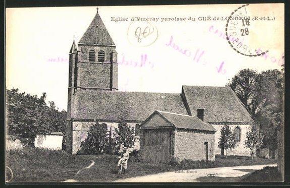 AK Guè-de-Longroi, Eglise d` Ymeray Paroisse