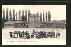 AK Dreux, Collège de Jeunes Filles, Place Mèzirard