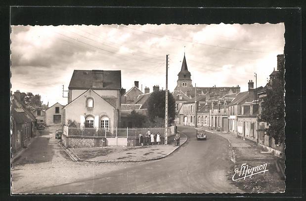 AK Arrou, Route de Courtalain-La Mairie