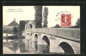 AK Bonneval, Le Pont et la vieille Porte de Boisville
