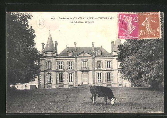 AK Chateauneuf-en-Thymerais, La Chateau de Jaglu
