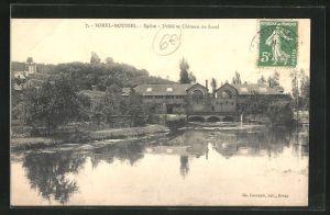 AK Sorel Moussel, Eglise -Usine et Chateau de Sorel