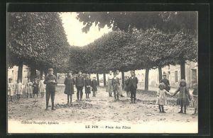 AK Le Pin, Place des Fetes