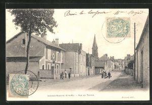 AK Guignes-Rabutin, Rue de Troyes