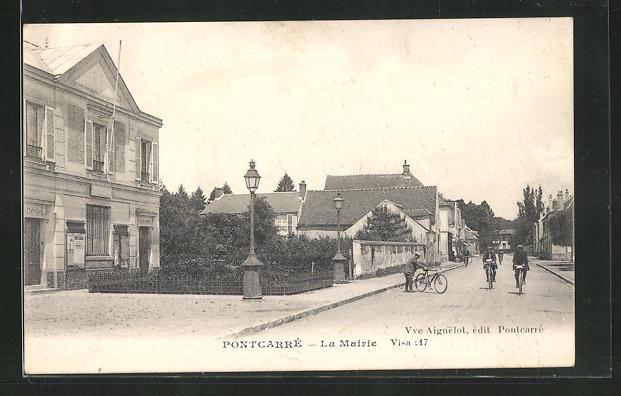 AK Pontcarre, la Mairie