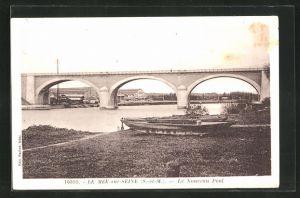 AK Le Mee-sur-Seine, Le Nouveau Pont