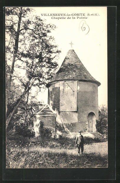 AK Villeneuve-le-Comte, Chapelle de la Pointe