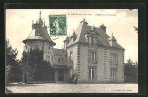 AK Berchères-sur-Vesgre, Chateau de la Tourelle