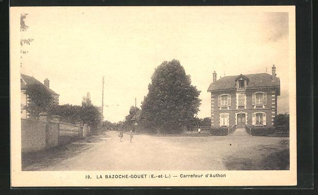 AK La Bazoche-Gouet, Carrefour d` Authon