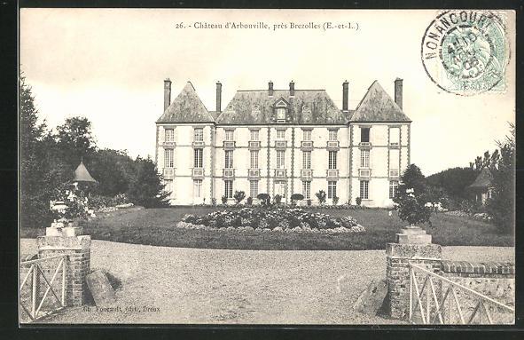 AK Revercourt, Château d`Arbouville