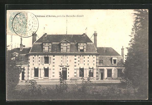 AK La Bazoche-Gouet, Chateau d`Arras