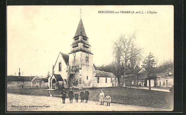 AK Berchères-sur Vesgre, L` Eglise