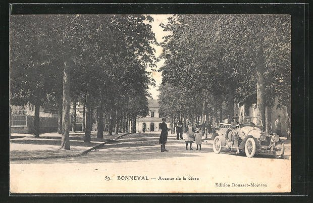 AK Bonneval, Avenue de la Gare