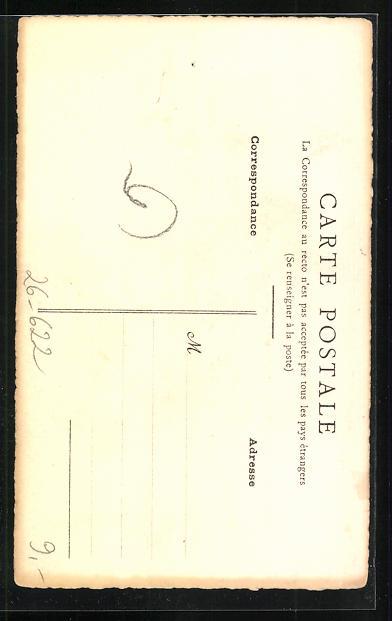 Künstler-AK Handgemalt: Frau mit Kopftuch 1914 1