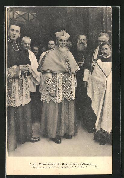 AK S. Gr. Monseigneur Le Roy, évèque d`Alinda, Superieur général de la Congrégation du Saint-Esprit 0