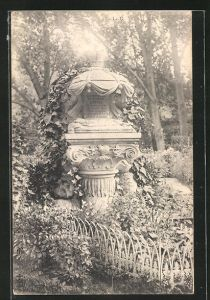 AK Friedhof, Grabstelle für einen Hund
