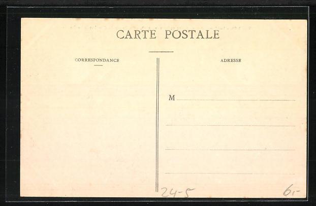 AK Troyes, Le Basin du Canal et la Préfecture, Hochwasser 1910 1