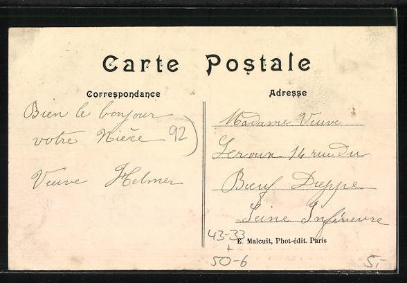 AK Asnières, Vue générale du Cimetière des Chiens, Hunde-Friedhof 1