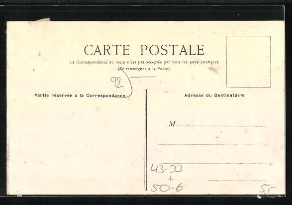 AK Asnières, Cimetière des Chiens, Eingang zum Hunde-Friedhof 1