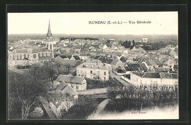 AK Auneau, Vue Generale 0