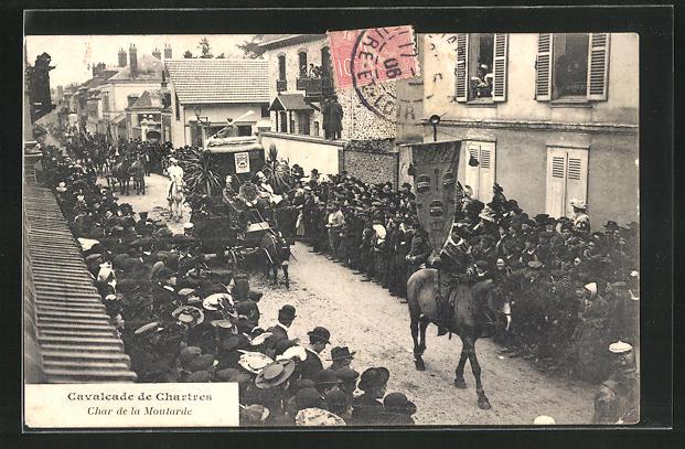 AK Chartres, Cavalcade, Char de la Moutarde