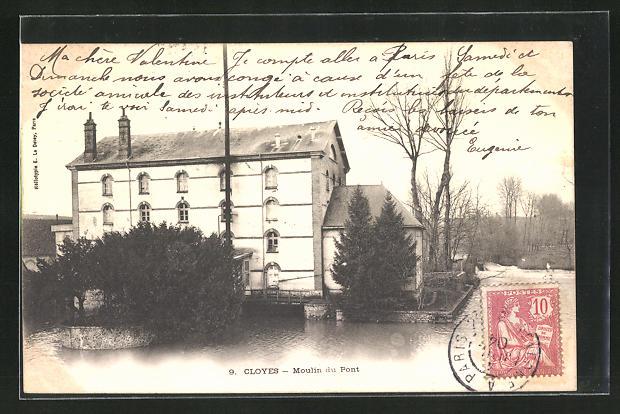AK Cloyes, Moulin du Pont 0