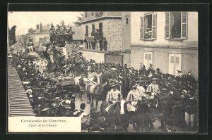 AK Chartres, Cavalcade, Char de la Chasse